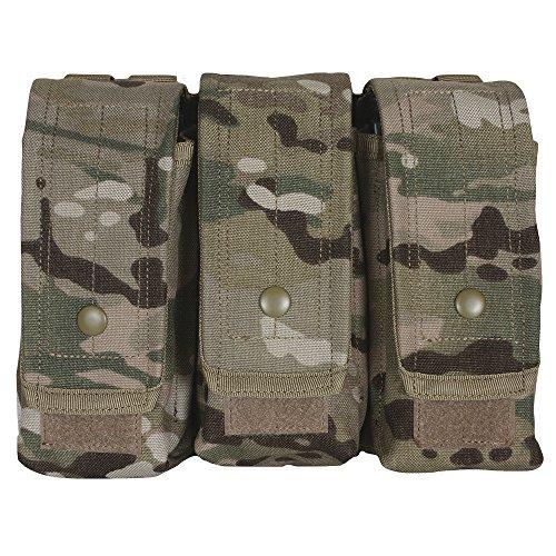 Fox Outdoor AR-15AK-47 Triple Mag Pouch Terrain Digital