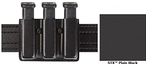 Safariland Model 775 Slim Triple Mag Pouch Open Top STX Black For Glock 20 21