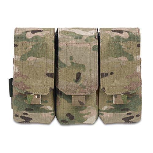 Warrior Assault Systems Triple M4 556mm Non Slip Retention Mag Pouch 4 Magazine