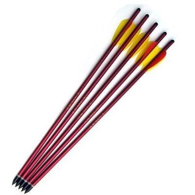 5 Aluminum Metal Arrows 15 Long Brand New Crossbow Arrows