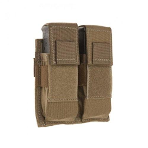 Tac Shield Double Pistol Magazine Belt Pouch Coyote