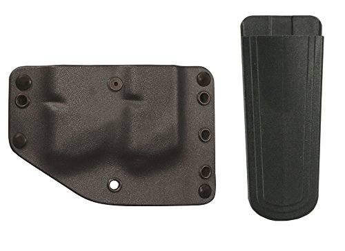 Phalanx Defense Stealth Operator H50053 Twin Double Stack Magazine Holster Multi-Fit OWB Belt Black  Ultimate Arms Gear 9mm4045 Mag Pouch