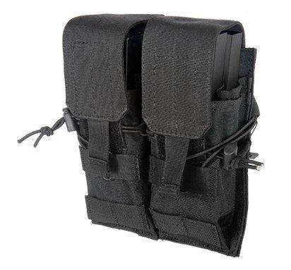 Lancer Tactical CA-358B Dual M4M16AK74 Magazine Pouch Black