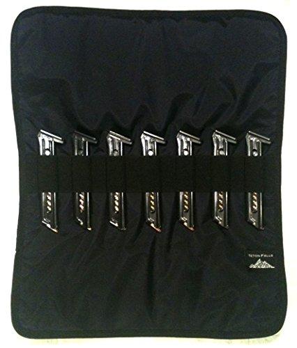 22LR  380 Magazine Wrap - Buckmark Ruger Mossberg M&P Beretta Sig Taurus Midnight Black