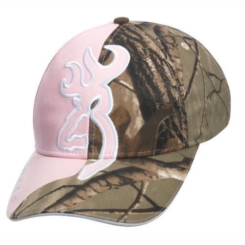 Browning Big Buckmark Cap Camo Realtree XtraPink