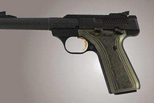 Hogue Browning BuckMark Grips Checkered G-10 Tan
