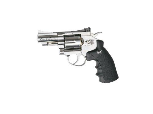ASG Dan Wesson CO2 Powered Pellet Air-Revolver Silver 25