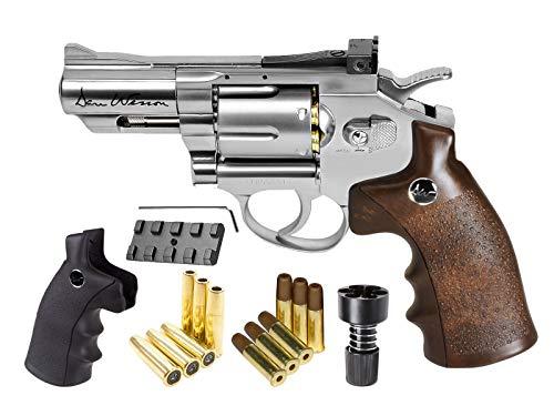 Dan Wesson CO2 BB Dual Ammo Dual Grip Revolver Kit 25 air Pistol