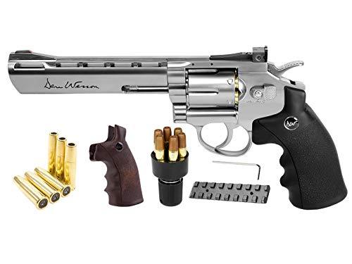 Dan Wesson CO2 BB Dual Ammo Dual Grip Revolver Kit 6 air Pistol