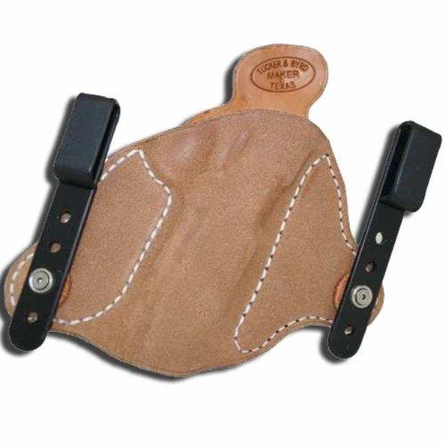 Left Hand - Tucker Byrd L2 Leather Tuckable IWB Holster - Bond Arms Snake Slayer