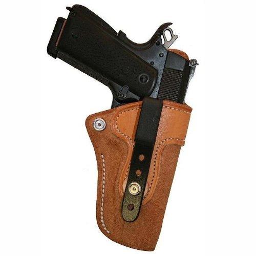 Left Hand - Tucker Byrd L4 Leather Tuckable IWB Holster - Bond Arms Snake Slayer IV