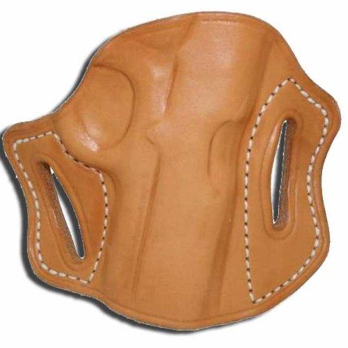 Left Hand - Tucker Byrd Leather Pancake Belt Holster - Bond Arms Snake Slayer - Natural