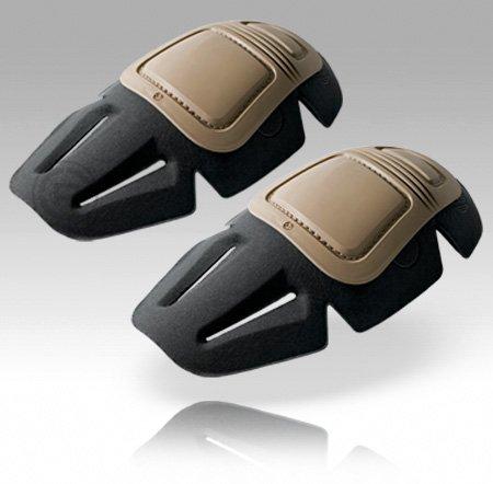 Crye Precision Airflex Combat Knee Pads 03 G3 Khaki Set