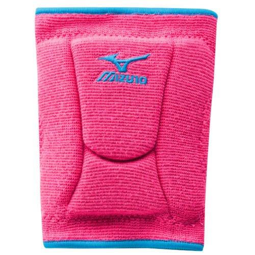 Mizuno Womens LR6 Highlighter Knee Pad PinkDiva Blue Medium