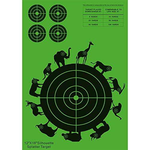 ANTSIR Multi-Bulls-Eye Target suit for Archery and shooting10 pcs
