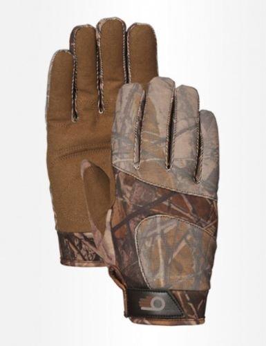 Bellingham Archery Shooting Gloves Camo Hunting Lightweight Breathable LFS R7782 Sz M