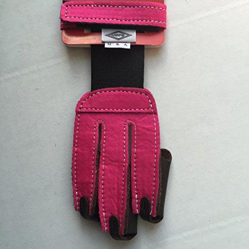 Neet Youth Archery Shooting Glove Medium  Neon Pink