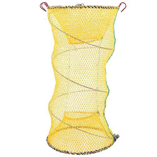VGEBY1 Shrimp Bait Trap Foldabe Fishing Cage Trap Bait Lobster Crawfish Collapsible Folding Fishing Net Bait Shrimp Cage