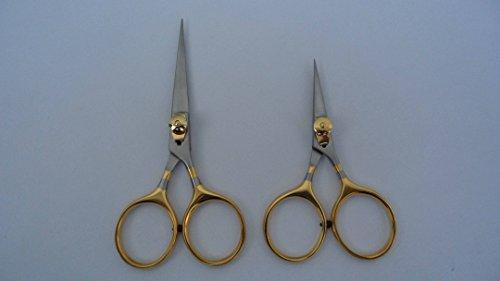 Shani fly tying tools fly tying Razor scissors 4 5 set Super sharp blades