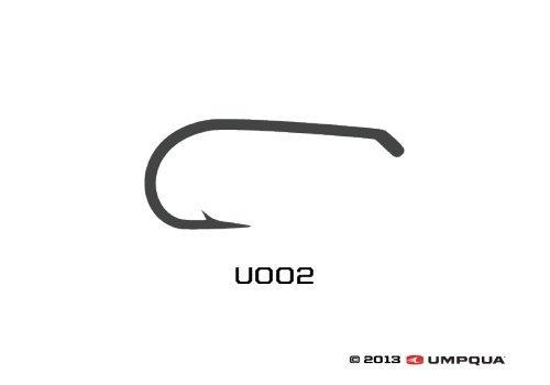 Umpqua Fly Tying Hooks U002 50Pk 14 Dry Fly Hook Standard Wire Down Eye