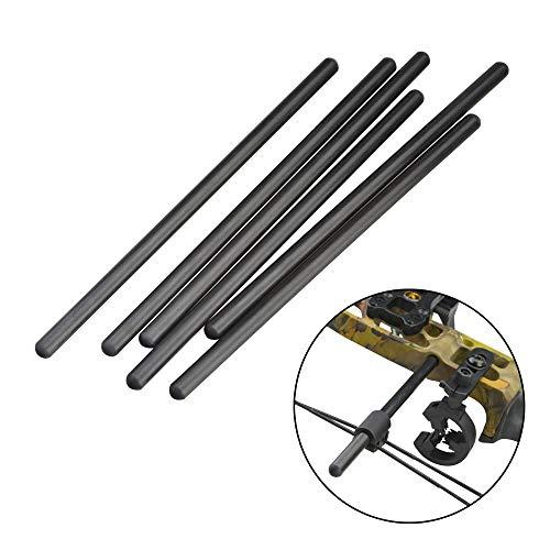 MILAEM Archery Bow String Stop Bracket String Decelerator Compound Bow String Separator Tool Bow String Suppressor Rod Stabilizer Silencer
