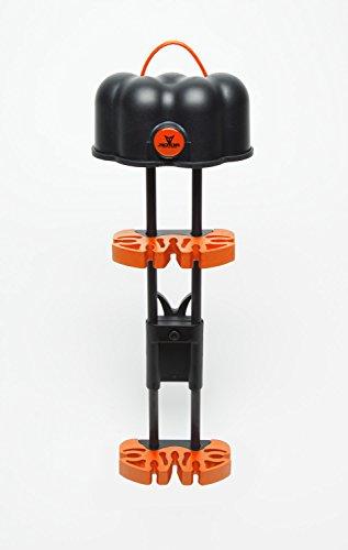 Slammer 5 Arrow Adjustable Quiver Black w Orange Accent
