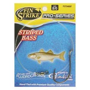 Fin Strike PST0480F Pro-Series Striped Bass Rig