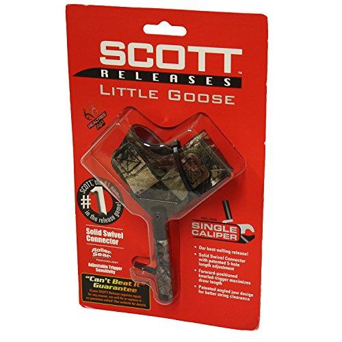 Scott Archery 3002BS2-CA Scott Little Goose Release-Buckle Strap Mossy Oak