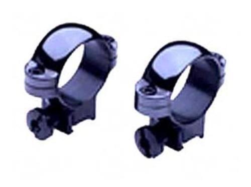 Burris Optics 420069 RimfireAirgun 1 Medium 22 Cal Deluxe Steel Rings with Matte Black Finish