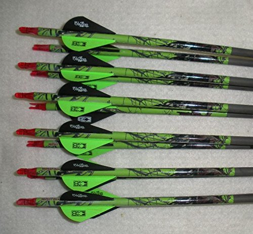 Gold Tip Expedition Hunter 5575400 Carbon Arrows wBlazer Vanes Mossy Oak Wraps 12 Dz