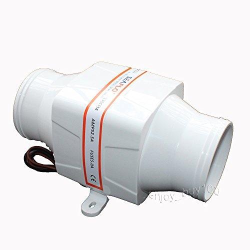 In-Line Blower 12V Marine Cool Fan Ventilation Boat Bilge 3 by Seaflo