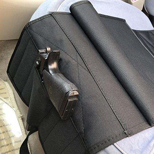 Adjustable Pistol Pocket Car Seat HolsterBlack