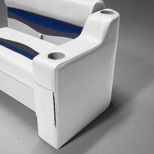 DeckMate 7 Left Pontoon Boat Seat Arm