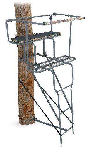 Ameristep 15-Feet Two Man Ladder Stand Camo