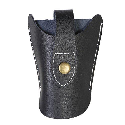 Andux Leather Slingshot -Waist Bag Holster Case Hunting Games--TGB-01