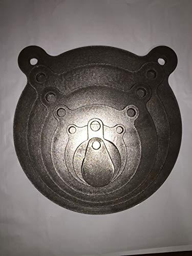 AR500 12 Steel Shooting Target Gong 7pc Set 234681012
