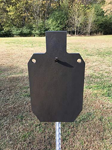 AR500 Steel Target 12x20 IDPAISPC Shooting 38 AR500 Range Target wT-Post Hook