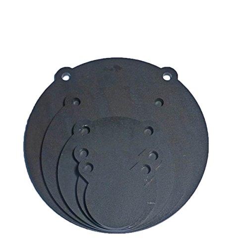 Tactical Scorpion Gear TSG-GGCB1 Combo Set AR500 38 x 3 4 6 8 and 10  Steel Shooting Target Gong Laser Cut