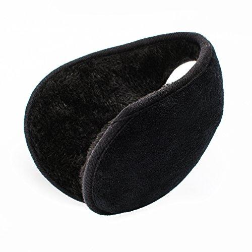 QXQY Ear Warmers Fleece Earmuffs Winter Double Layer Sponge Design Outdoor Ear Warmer for Men Women