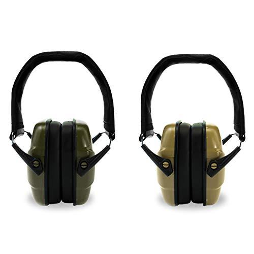 ucho Shooting Earmuff Safety Ear Protection - NRR 34dB Shooting Ear Protection Noise Reduction Headphones for Adults Kids Ear Protection for Shooting Hearing