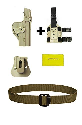 ZSP07 IMI Defense Z1390 Level 3 Holster Sig Sauer PRO SP2022SP2009220220 COMBAT 45226P227228MK 25 P226 Combat Tacops Tan  Z2200 Drop Leg Rig  Ultimate Arms Gear Security BDU Duty Belt