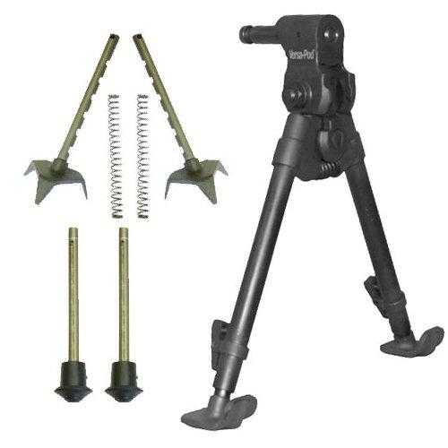 BattlePack Versa-Pod Bipod Gun Rifle Rest Accuracy International Bench size 9 to 12 Raptor Ski and Rubber Feet