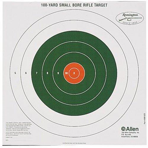 Remington Bullseye Style 100 Yard Sight-In Target Pack of 12