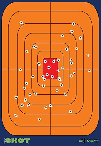60 Pack 6 Inch Reactive Splatter Gun Targets Shooting Range Rifle Target