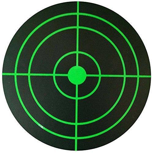 Smart Splatter Targets - Stick Splatter Reactive Shooting Targets - Gun - Rifle - Pistol - AirSoft - BB Gun - Pellet Gun - Air Rifle 3 inch 250roll