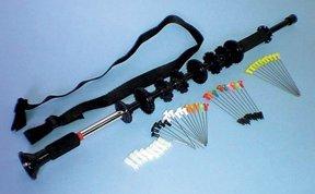 Cajun Archery Aborigine 36 Black Blowgun