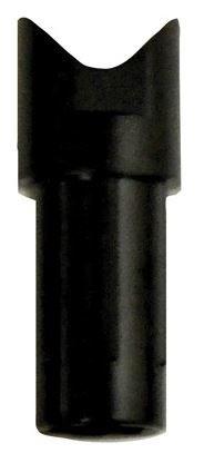 2985 OR 303 Diameter HALF MOON CROSSBOW NOCK - BOHNING - 1 DOZEN MULTI COLORS BLACK 2985