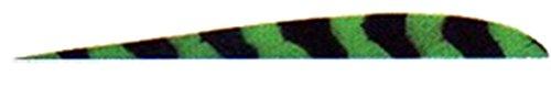 Trueflight 1c 5 Green Bar Rw Trueflight Feathers
