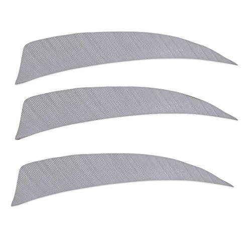 Trueflight Feathers 4 inch Gray SB RW