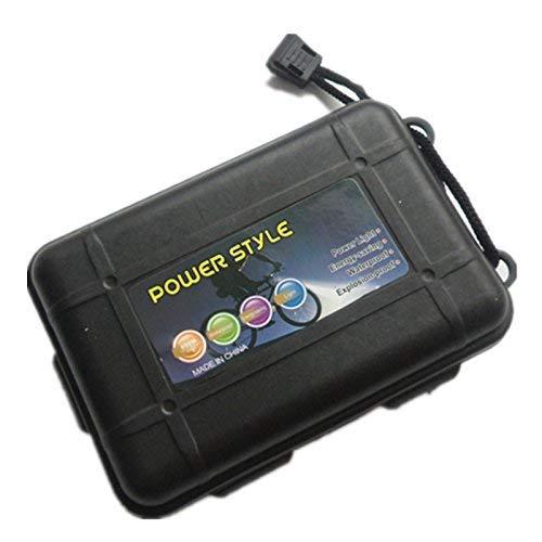 Mosogos Black Broadhead Case Holds 6 Arrowheads Plastic Portable Storage Box for Arrowheads